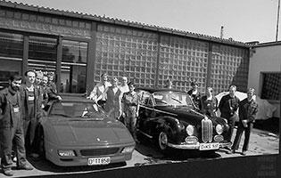 1990, Umzug auf die Scheffelstraße